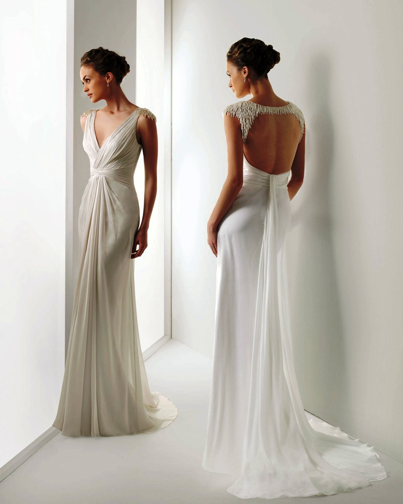 Grecian Style Wedding Gown: Grecian Wedding Dresses