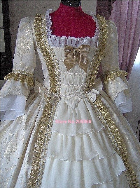 1700s wedding dresses photo - 1