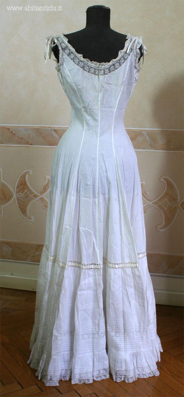 1800s wedding dresses photo - 1