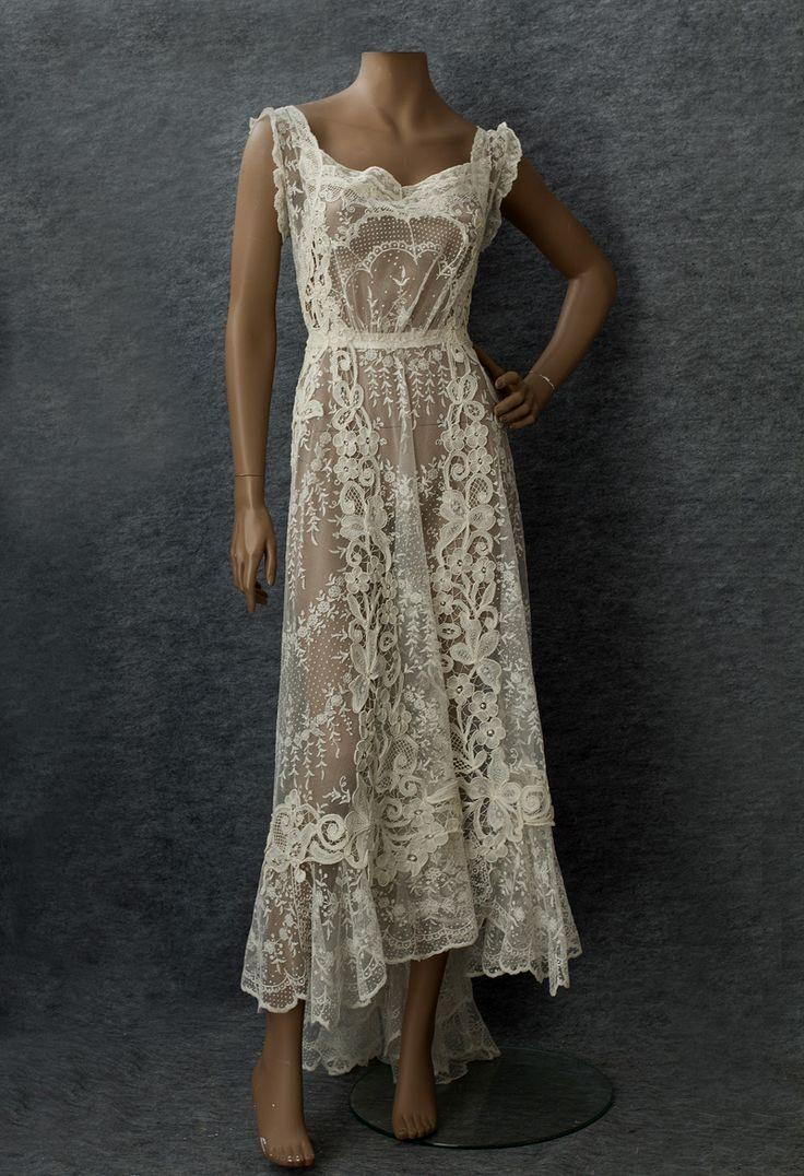 1910 wedding dresses photo - 1