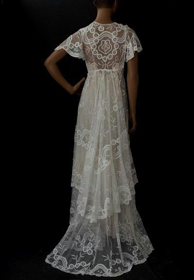 1910s wedding dresses photo - 1