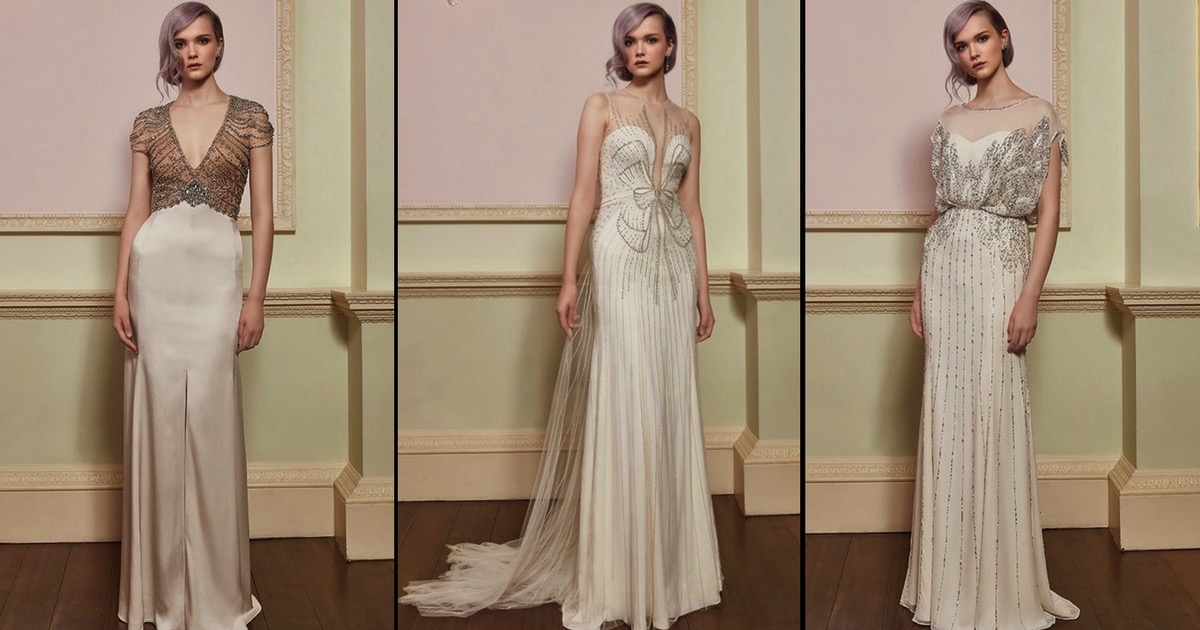 1920s inspired wedding dresses photo - 1