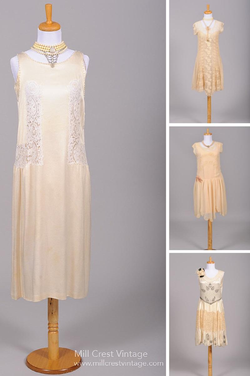 1920s wedding dresses photo - 1
