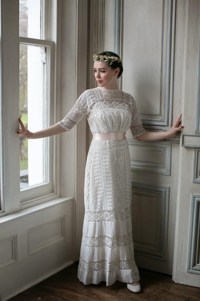 1930s inspired wedding dresses photo - 1