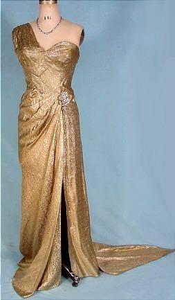 1940s evening dresses photo - 1