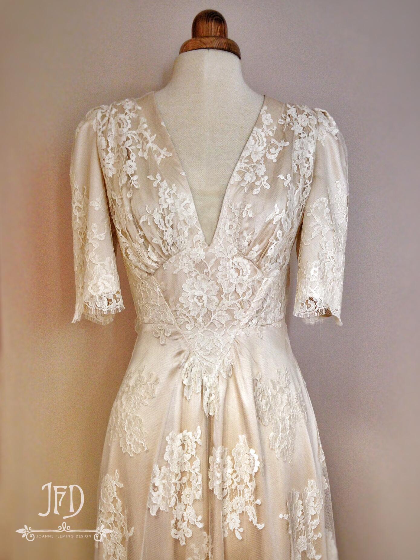 1940s inspired wedding dresses photo - 1