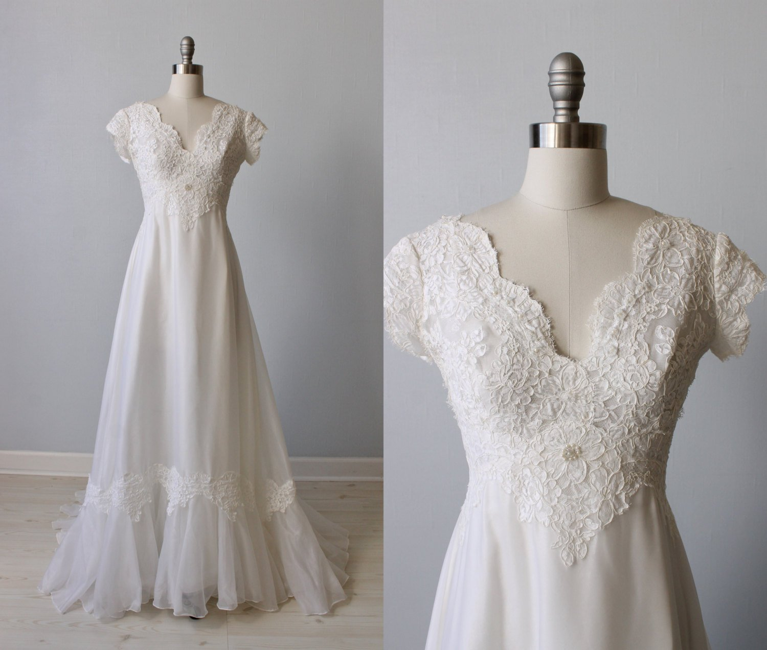 1970s wedding dresses photo - 1
