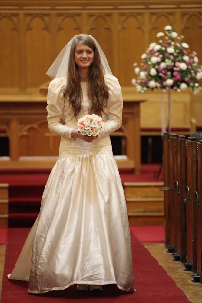 1990 wedding dresses photo - 1