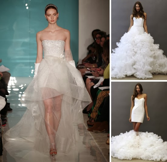 2 in 1 convertible wedding dresses photo - 1