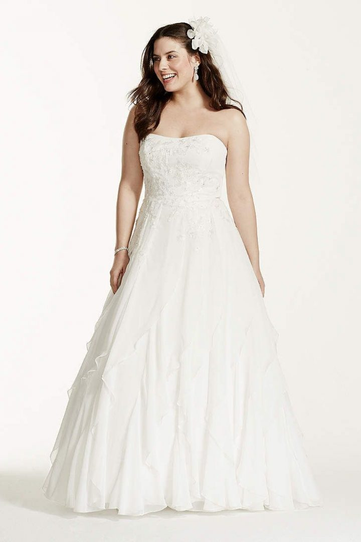 2 in 1 wedding dresses davids bridal photo - 1