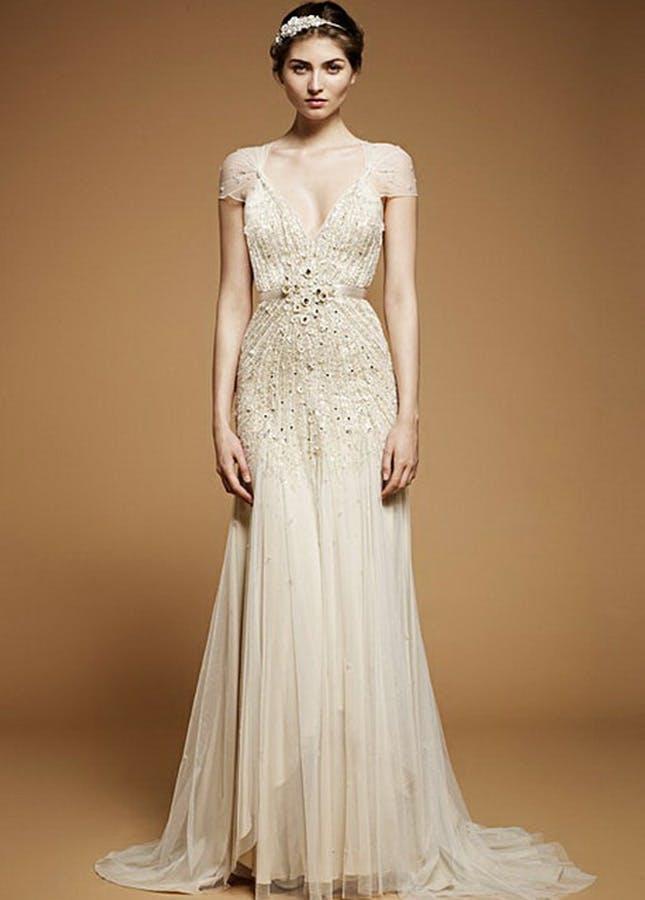 20s inspired wedding dresses photo - 1