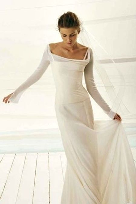 2nd wedding dresses informal photo - 1