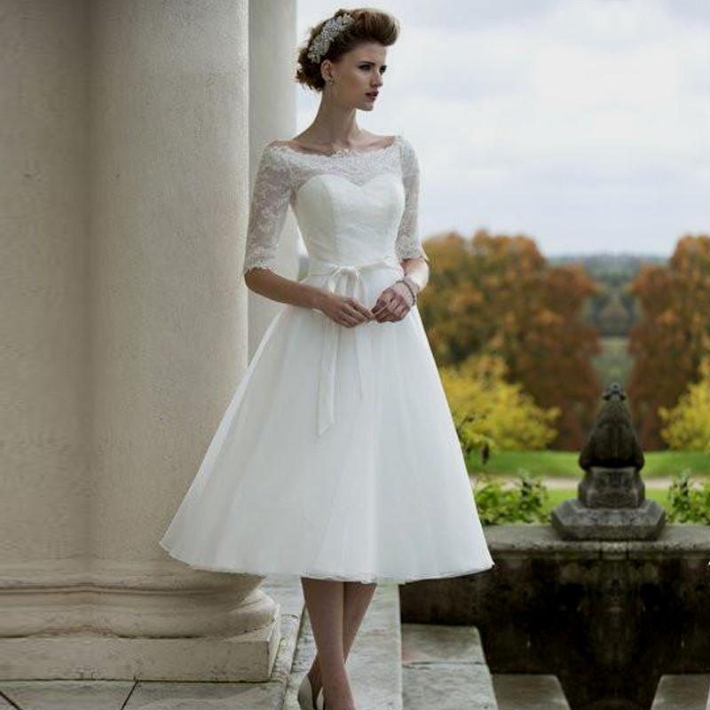 50s wedding dresses photo - 1