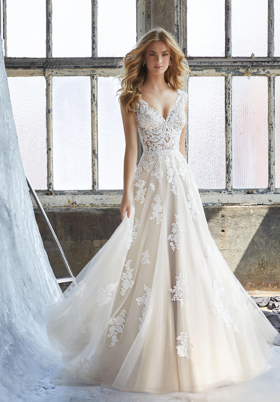 a line sweetheart wedding dresses photo - 1