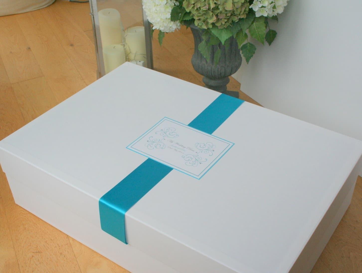 acid free storage boxes for wedding dresses photo - 1