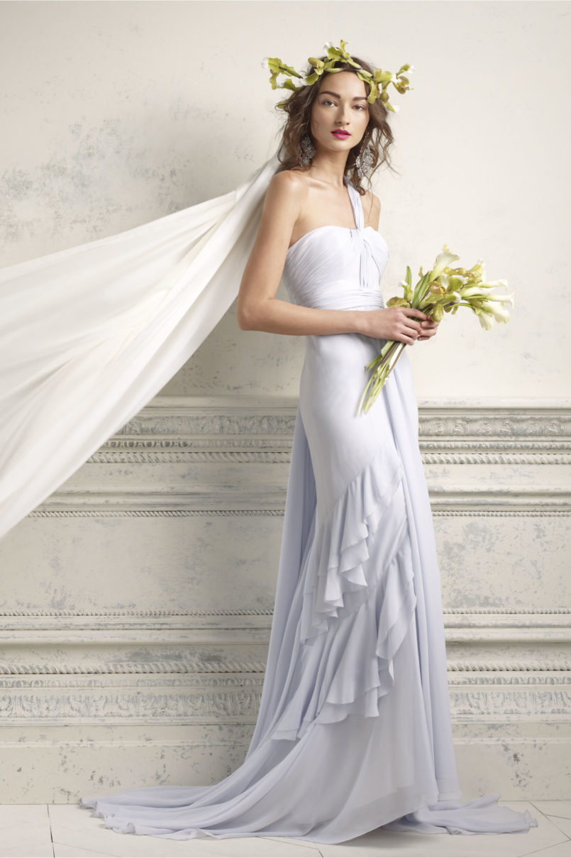 affordable casual wedding dresses photo - 1