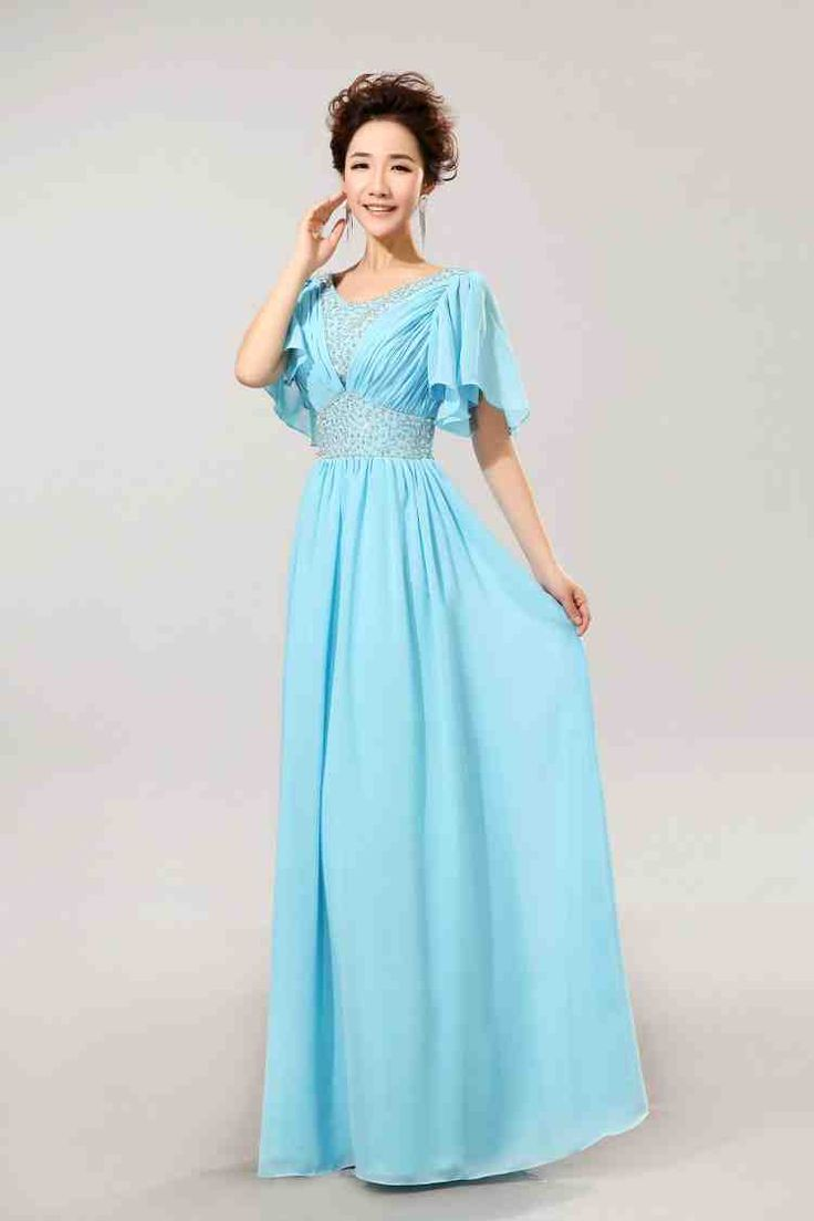 affordable modest wedding dresses photo - 1