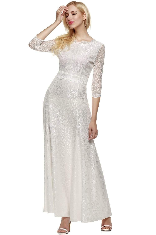 affordable short wedding dresses photo - 1