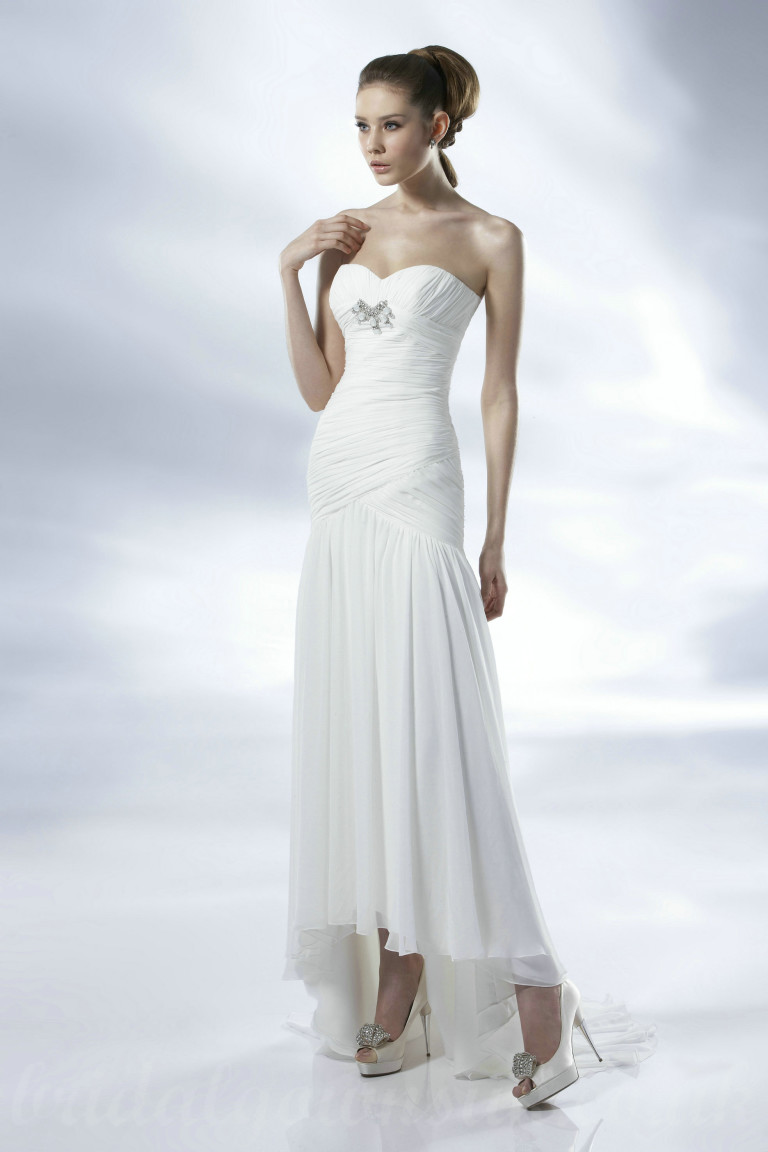 affordable wedding dresses photo - 1