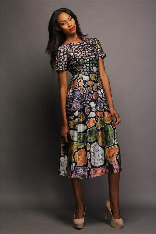 african prints wedding dresses photo - 1