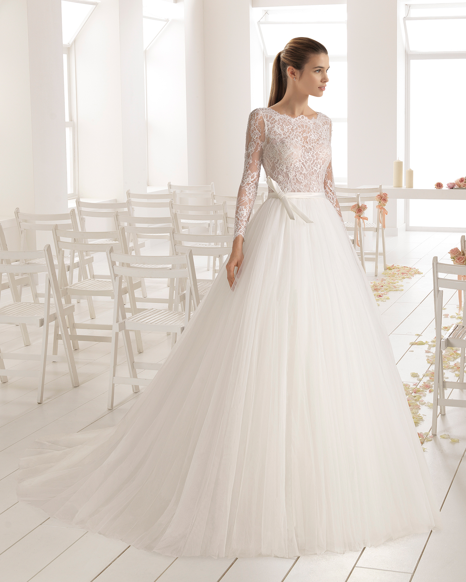 aire barcelona wedding dresses photo - 1