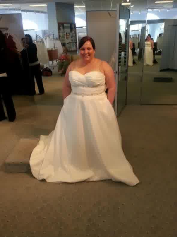 alfred angelo plus size wedding dresses photo - 1