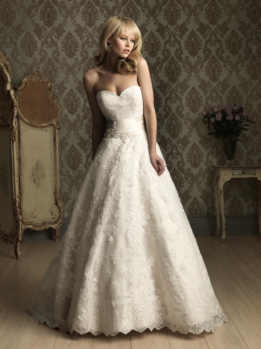 allure lace wedding dresses photo - 1