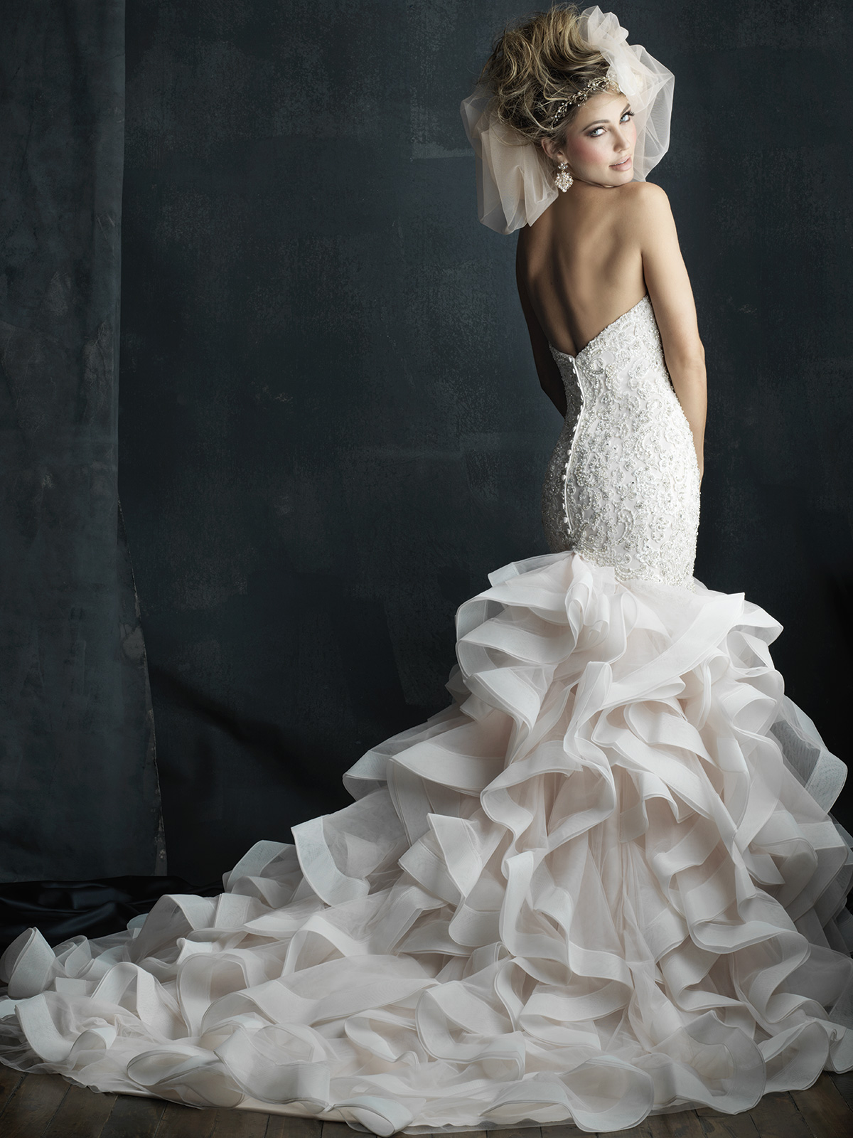 allure mermaid wedding dresses photo - 1