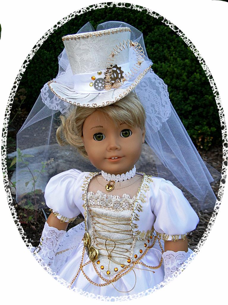 american girl doll wedding dresses photo - 1