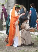 ancient roman wedding dresses photo - 1