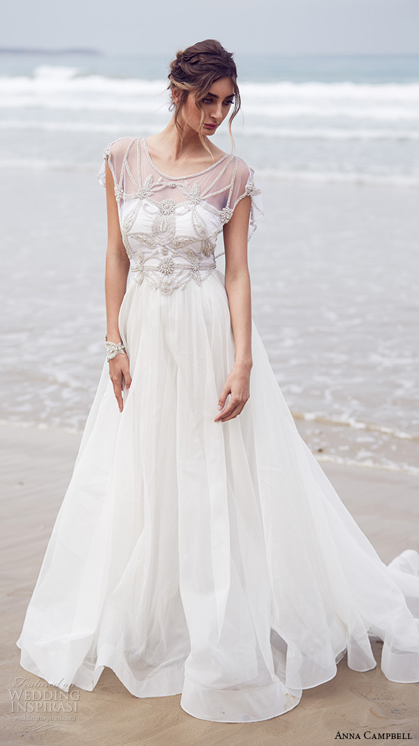 anna campbell wedding dresses photo - 1