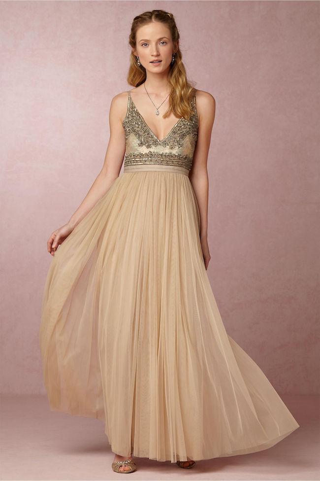 anthropologie wedding dresses sale photo - 1