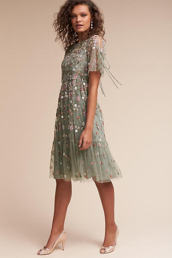 anthropologie wedding guest dresses photo - 1