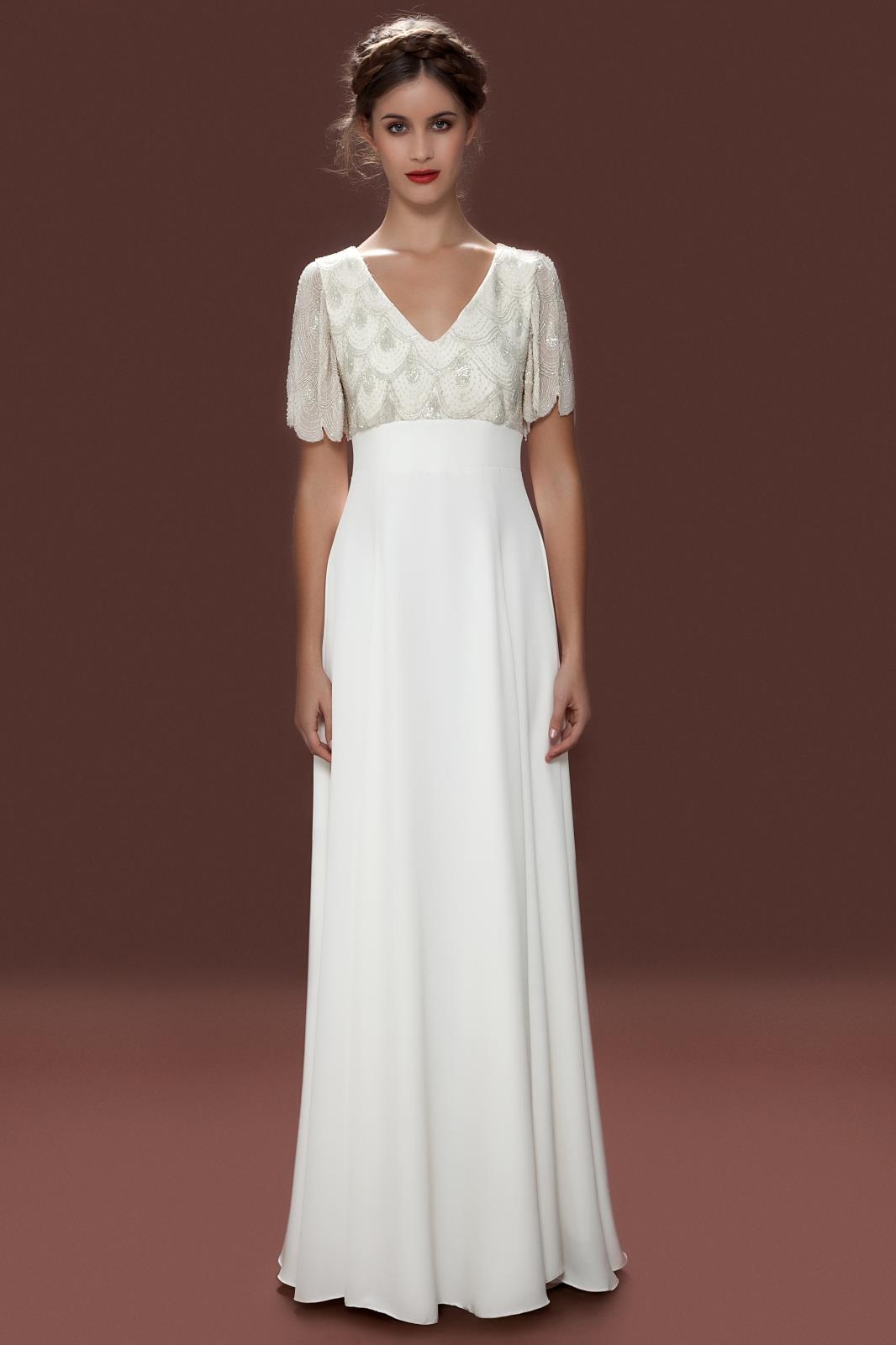 april wedding dresses photo - 1