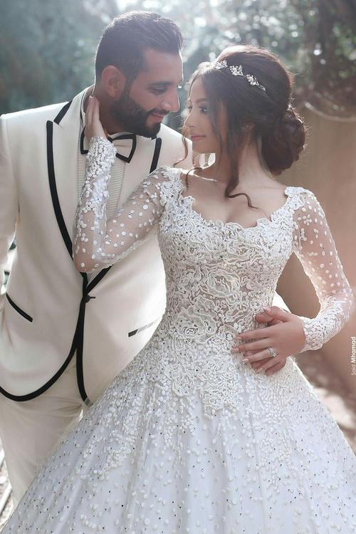 arabic wedding dresses photo - 1