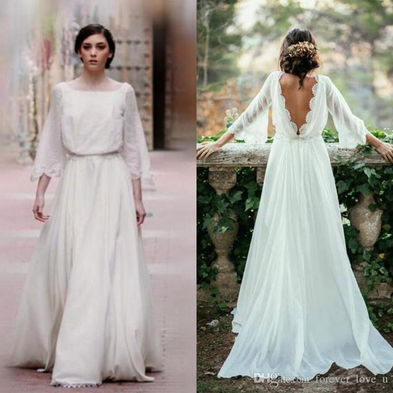 autumn wedding dresses photo - 1