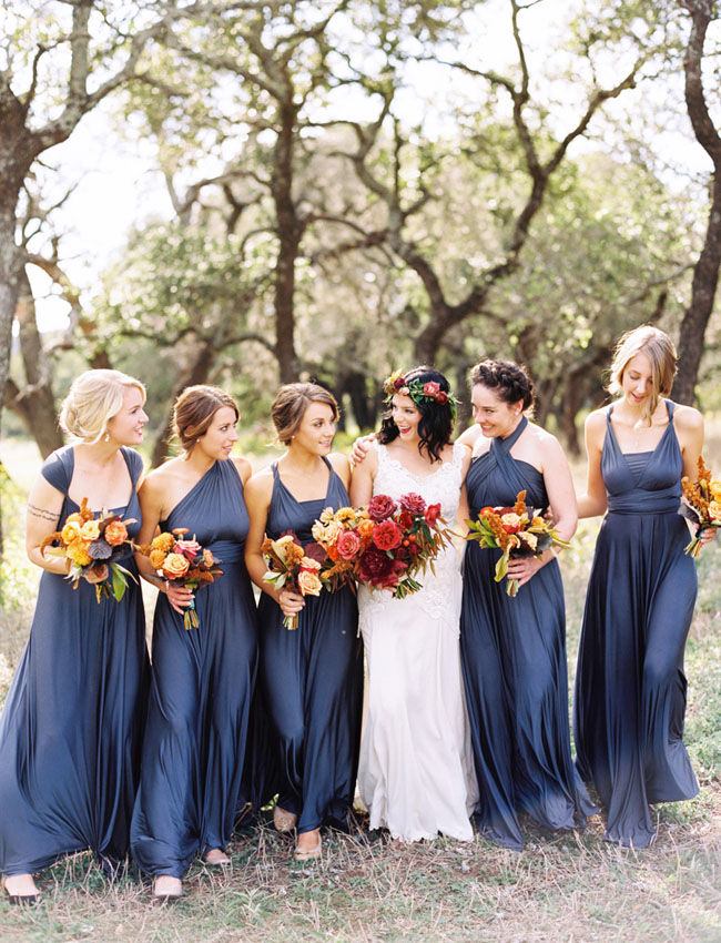 autumnal wedding dresses photo - 1