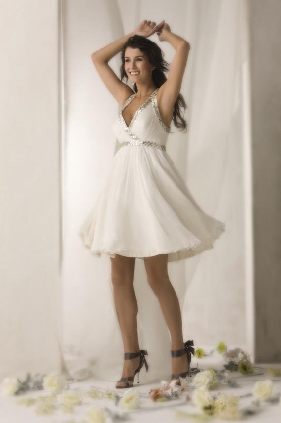 baby doll wedding dresses photo - 1