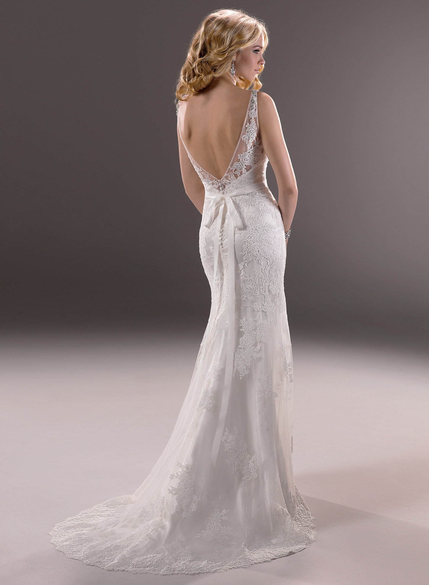backless wedding dresses designer photo - 1