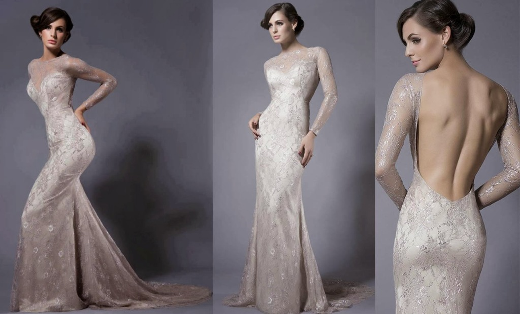 backless wedding dresses vera wang photo - 1