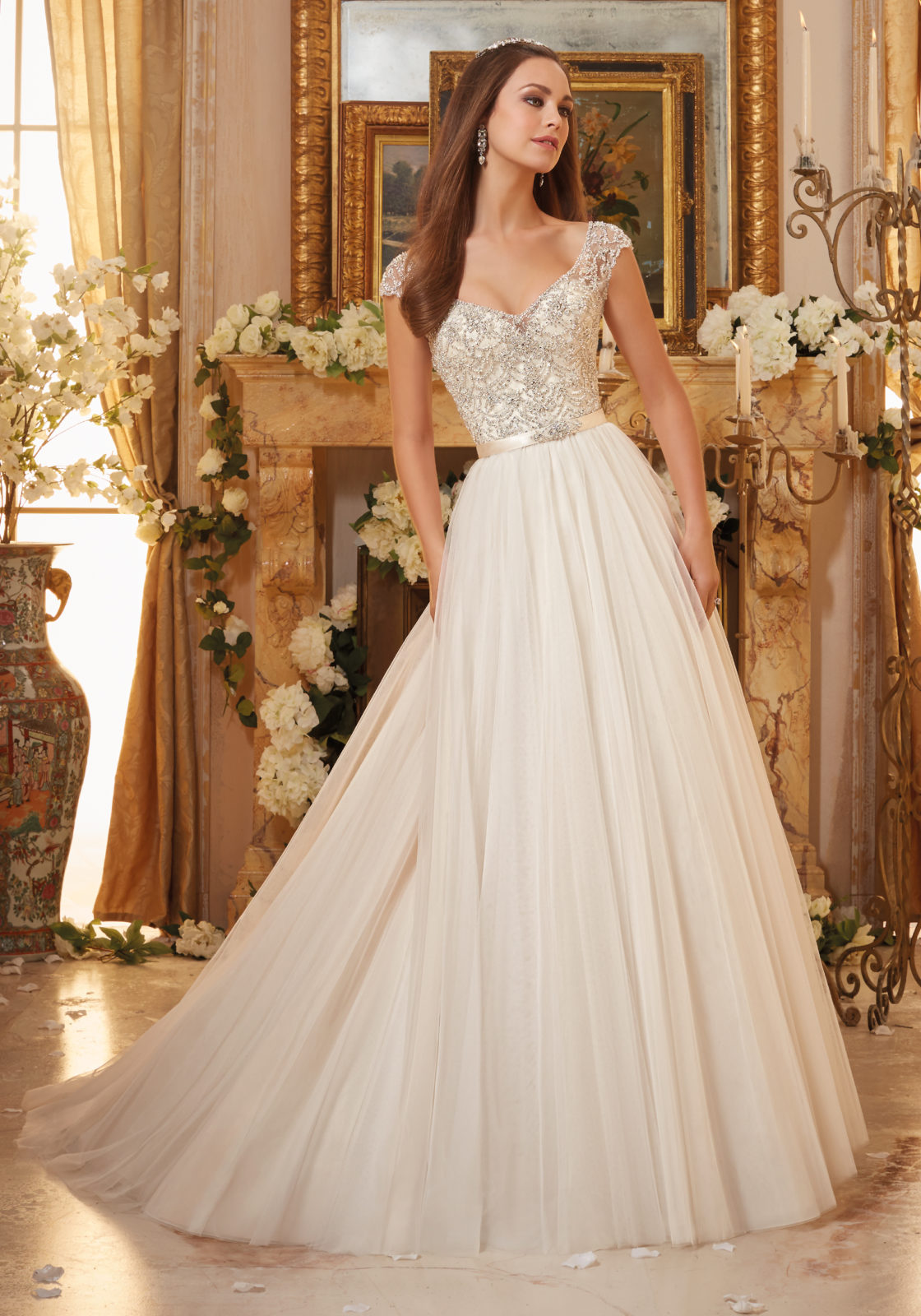 ball gown style wedding dresses photo - 1