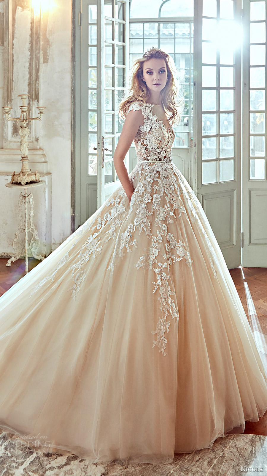 ball gown wedding dresses 2017 photo - 1