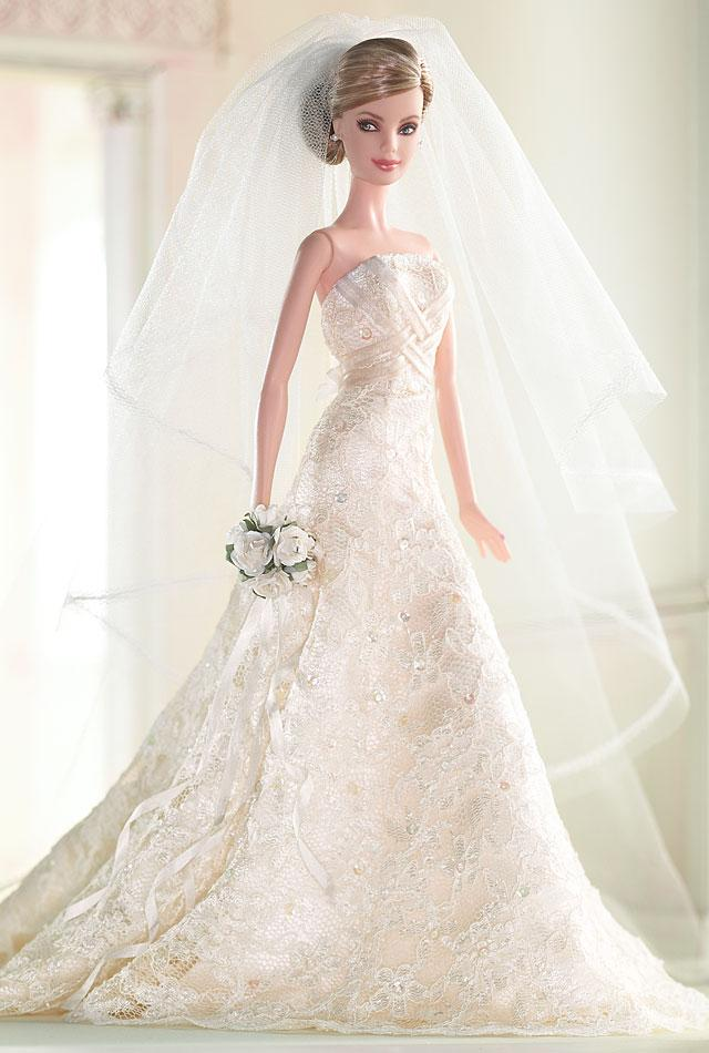 barbie dolls wedding dresses photo - 1