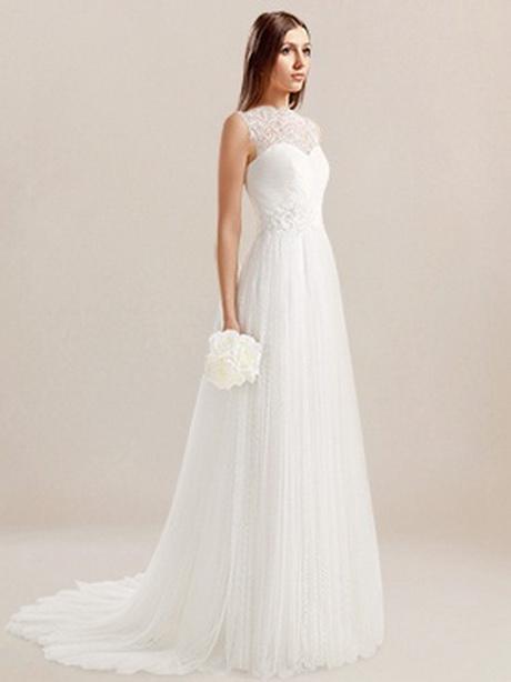 basic wedding dresses photo - 1