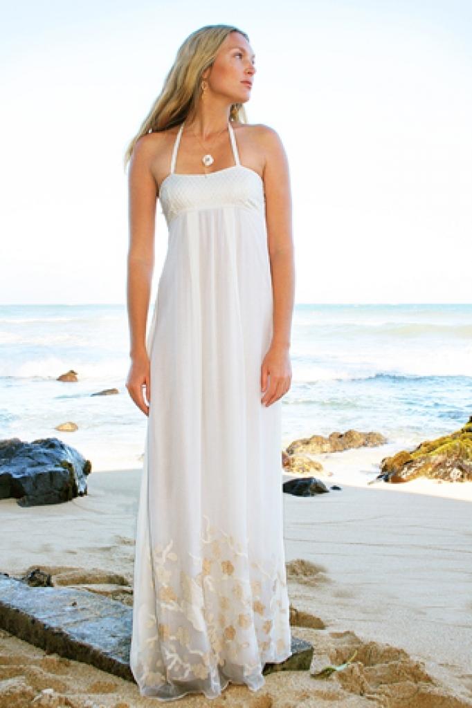 beach inspired wedding dresses photo - 1