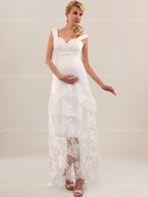 beach style wedding dresses plus size photo - 1