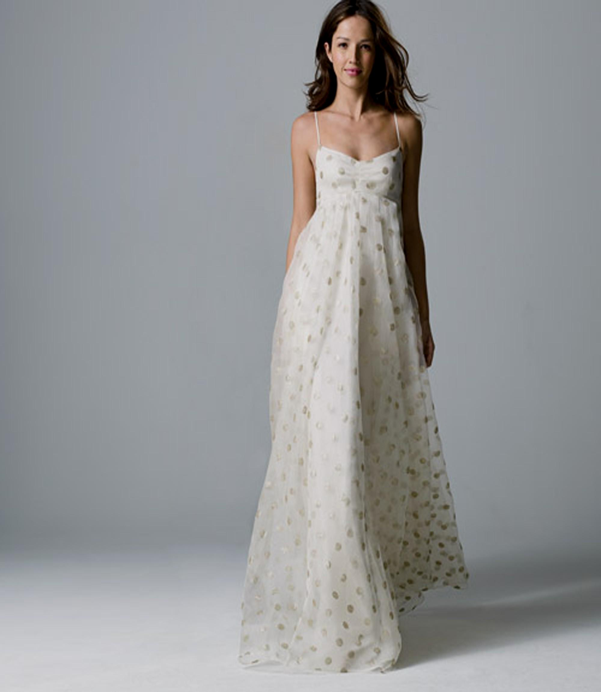 beach wedding dresses for older brides photo - 1