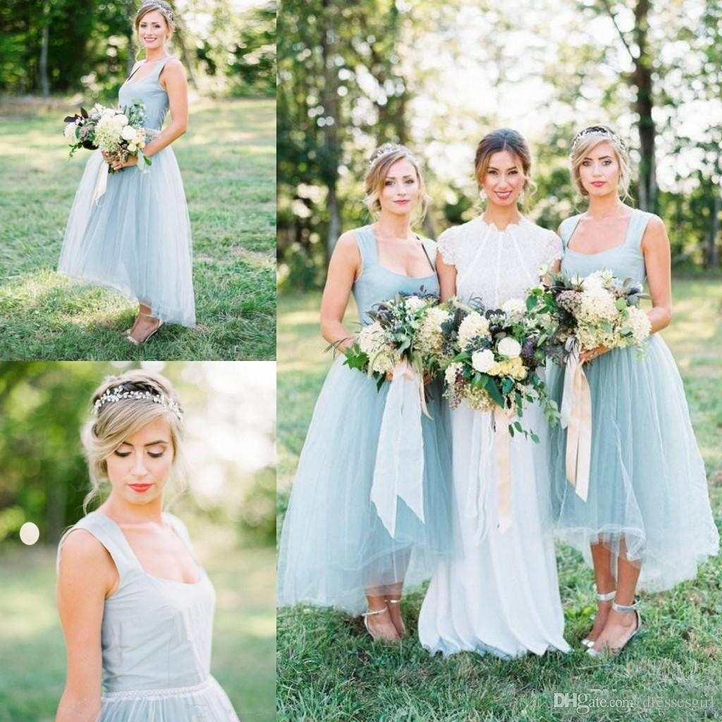 beach wedding maid of honor dresses photo - 1