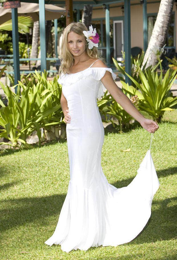 beachy wedding dresses photo - 1