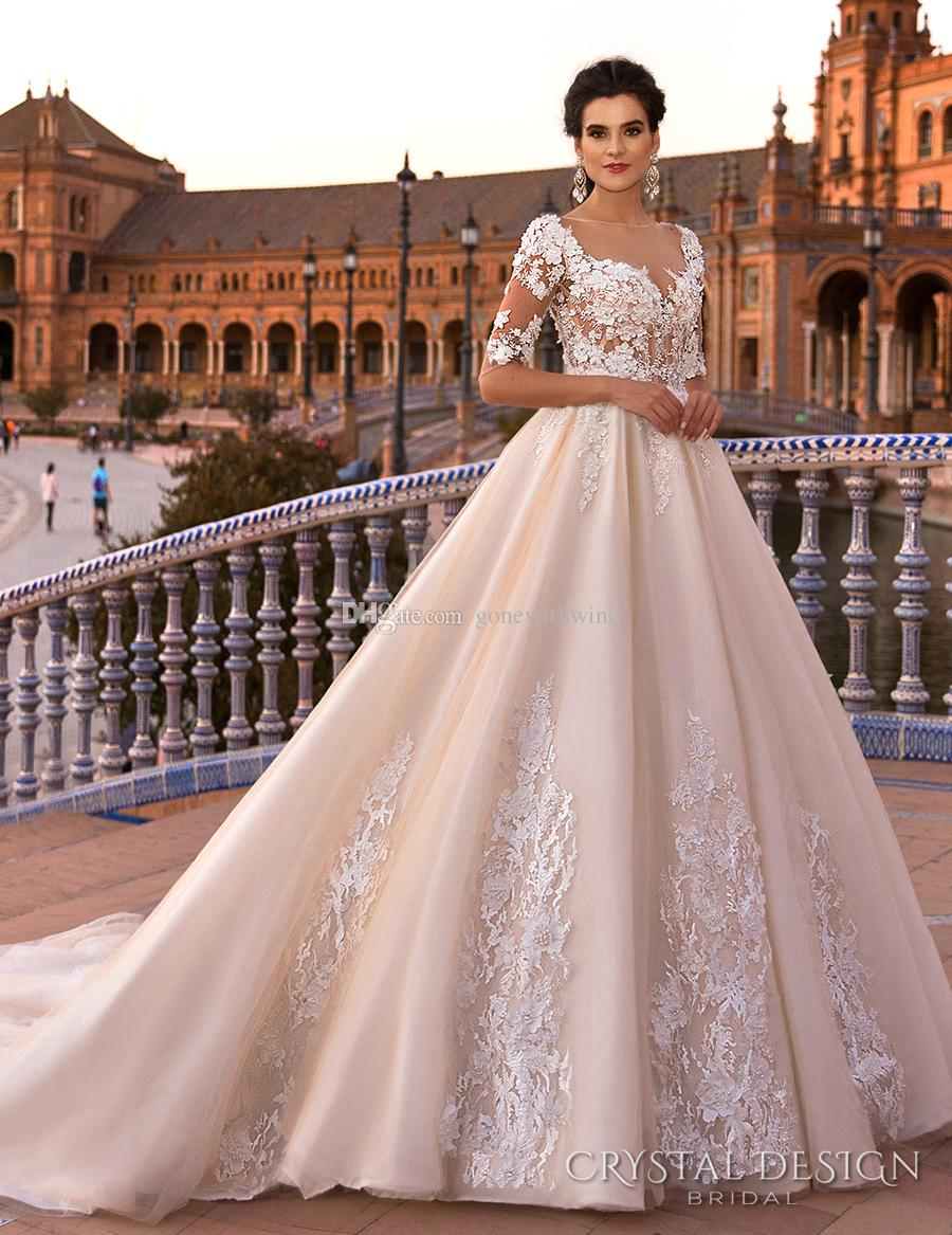beautiful ball gown wedding dresses photo - 1